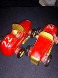 coches de madera - foto