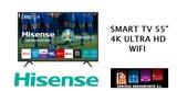 Tv hisense 55 pulgadas smart tv 4k wifi - foto