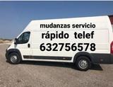 mudanzas y portes rápido 632756578 - foto