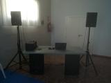 Equipo de música Altavoces etapa cables - foto