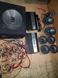 equipo de sonido coche - foto
