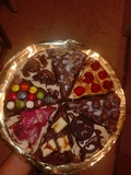pizza brownie - foto