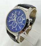 Reloj metalico imitacion piel cocodrilo - foto
