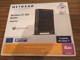 ROUTER NETGEAR Wireless-N 300. nuevo, si - foto