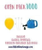 Pack 1.000 Globos Serigrafiados - foto