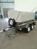 Remolque 2,30x1,30 toldo freno 750 kg - foto