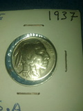 Moneda E.E.U.U.indio/bufalo 1937 - foto