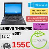 Lenovo Thinkpad x201 - foto