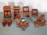 Playmobil mobiliario oeste - foto