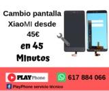CAMBIO DE PANTALLA MOVIL XIAOMI