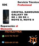 Reparar Cristal Pantalla Moviles Samsung - foto