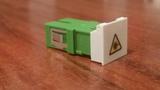 Enfrentador fibra óptica - foto