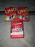 tres juegos de cartas - foto