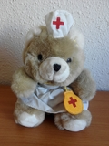 Peluche osa enfermera - foto
