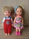 Muñeca kelly y Tommy de mattel. Antiguos - foto