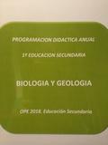 PROGRAMACIÓN BIOLOGIA.  9, 1 NOTA.  AUDIOS - foto