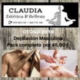 EstÉtica claudia depilaciÓn masculina - foto