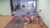 montaje de bicicletas - foto