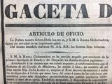 periódico de 1834 - foto
