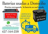 BATERIAS A DOMICILIO -SEGUNDAMANO  75 AM - foto