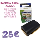 bateria para canon LP-E6N - foto