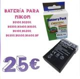 bateria para Nikon EN-EL14a - foto