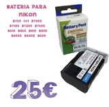 bateria para nikon EN-EL15a - foto