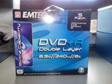 5 DVD+R DOBLE CAPA 8.5GB 240 MIN / 8X