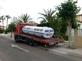 Cubas, Cisternas de agua a domicilio - foto