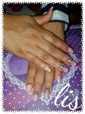 Manicura y pedicura uñas de gel - foto