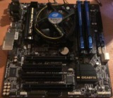 i5 4460 + Gigabyte GA-B85M-D3H + 8GB RAM - foto