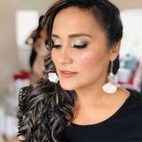 peluquera profesional maquillaje - foto