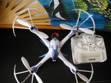 Dron turbo blanco WEBCAM HD - foto
