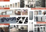 mobiliario de oficina ,mamparas , muros - foto