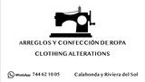 Arreglos y confección de ropa. Modista - foto
