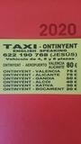 taxi albaida - foto