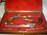 juego de pistolas de duelo: - foto