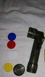 linterna militar de codo + 4 pilas - foto