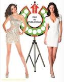 Ruletas  verticales de la fortuna - - - - foto