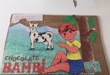 Antigua publicidad  chocolate bambi - foto
