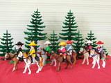 Playmobil  partida  de  mexicanos - foto