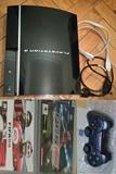 Ps3 play3 80gb mando nuevo juego cables - foto