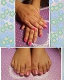 Manicura y pedicura y uñas de gel - foto