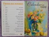 Calendario de 1999, Pintores Boca y Pie - foto