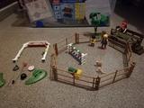 Caballos y jinetes de Playmobil - foto