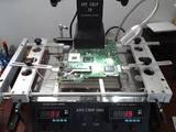 Reballing ps4 luz azul - foto
