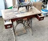Maquina de coser Gritzner - foto