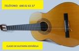 GUITARRA ESPAÑOLA - CLASES PRACTICAS - foto