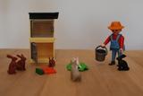 Playmobil 4491 - conejera - foto