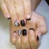 Uñas de porcelana/esmalte permanente - foto